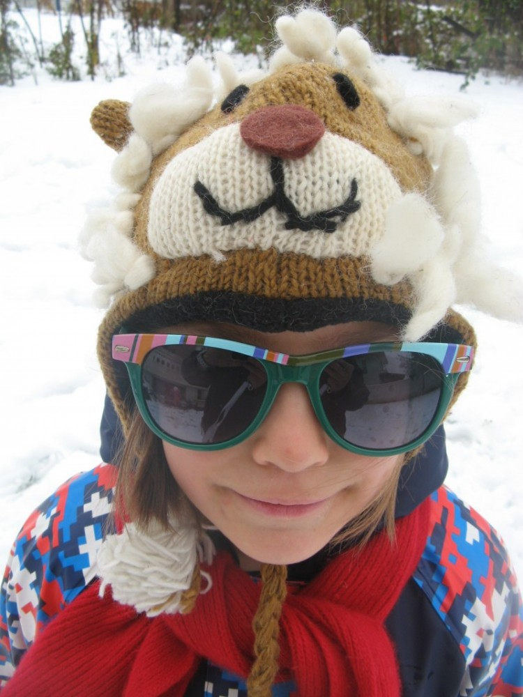 Caciula lana copii <4 ani - Lion