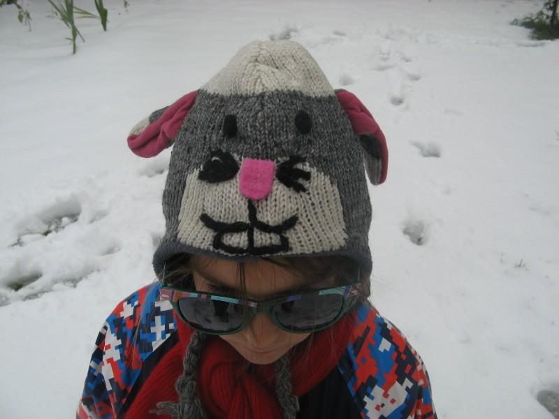 Caciula lana copii <4 ani - Iepurila