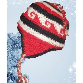 Caciula lana Red Wool