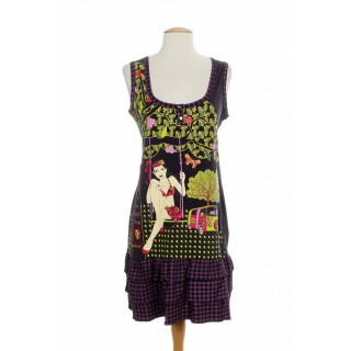 Rochie bumbac Missing Johnny Adelaide XS