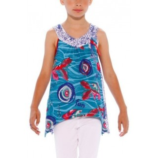 Bluza bumbac Desigual Kids Spondias - 7-8 ani