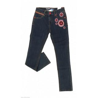 Pantaloni denim Desigual Soprano 7-8 ani