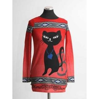 Bluza maneci lungi Cat