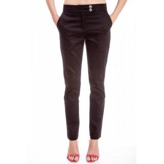 Pantalon bumbac Bancroft Negru