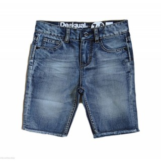 Pantaloni Desigual Denim Palmera baieti 7-8 ani