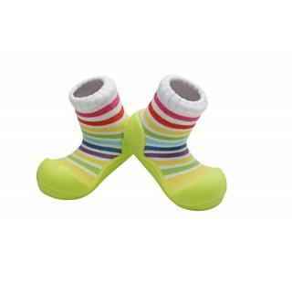 Incaltaminte copii Attipas Rainbow, verzi