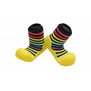 Incaltari copii Attipas Rainbow, galbeni