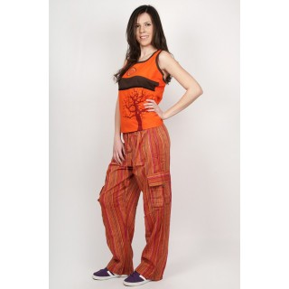 Pantaloni bumbac Orange Sun