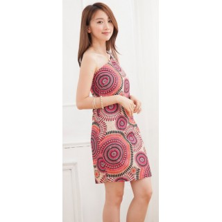 Cheongsam Trendy Retro Red